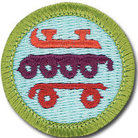 Skating Merit Badge