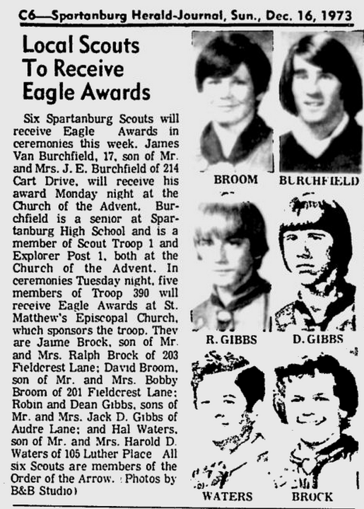 Spartanburg Herald Journal, 15 December 1973, page C6