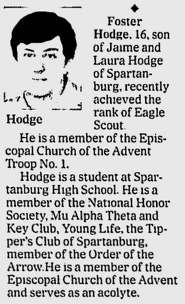 Spartanburg Herald-Journal, 19 February 2006, page B7