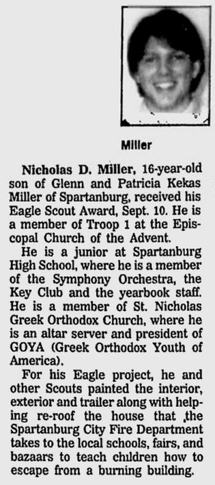 Spartanburg Herald-Journal, 8 October 1995, page C10