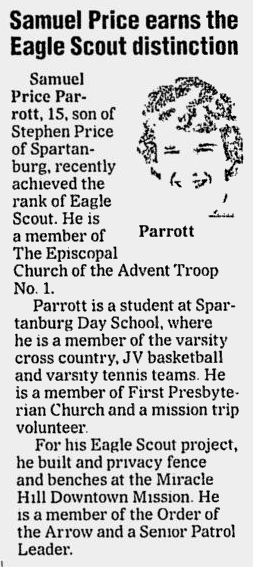 Spartanburg Herald-Journal, 12 June 2008, page B5