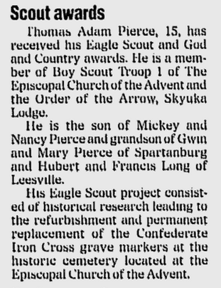 Spartanburg Herald-Journal, 18 Feb 1998, page B5