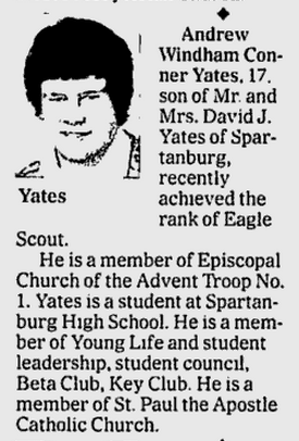 Spartanburg Herald-Journal, 19 Feb 2006, page B7